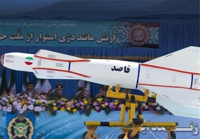 بمب هوشمند 2000 پوندی قاصد (+عکس)