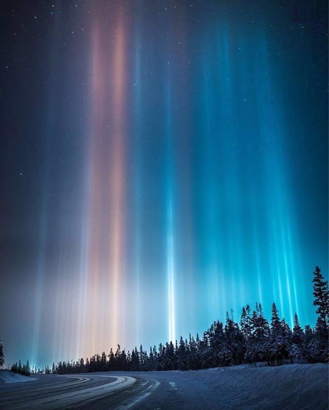 پدیدهای شگفتانگیز در قُطب