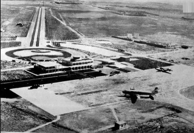 فرودگاه شیراز؛ 57 سال قبل
