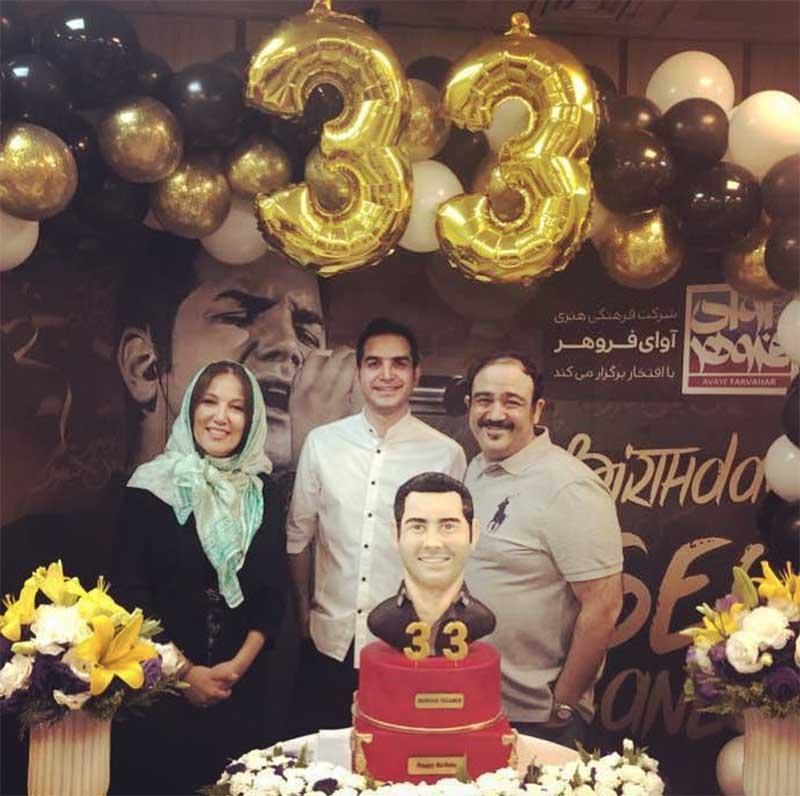 جشن تولد خواننده معروف با حضور هنرمندان (عکس)