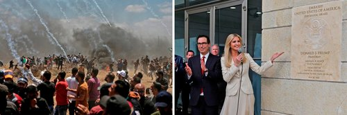 رکورد مشترک ترامپ-نتانیاهو / اعتراض مدنی حق فلسطینی ها نیست!