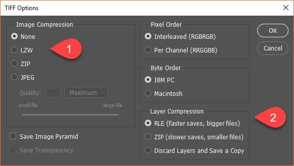 آموزش ذخیره کردن فایل در فتوشاپ (+عکس)