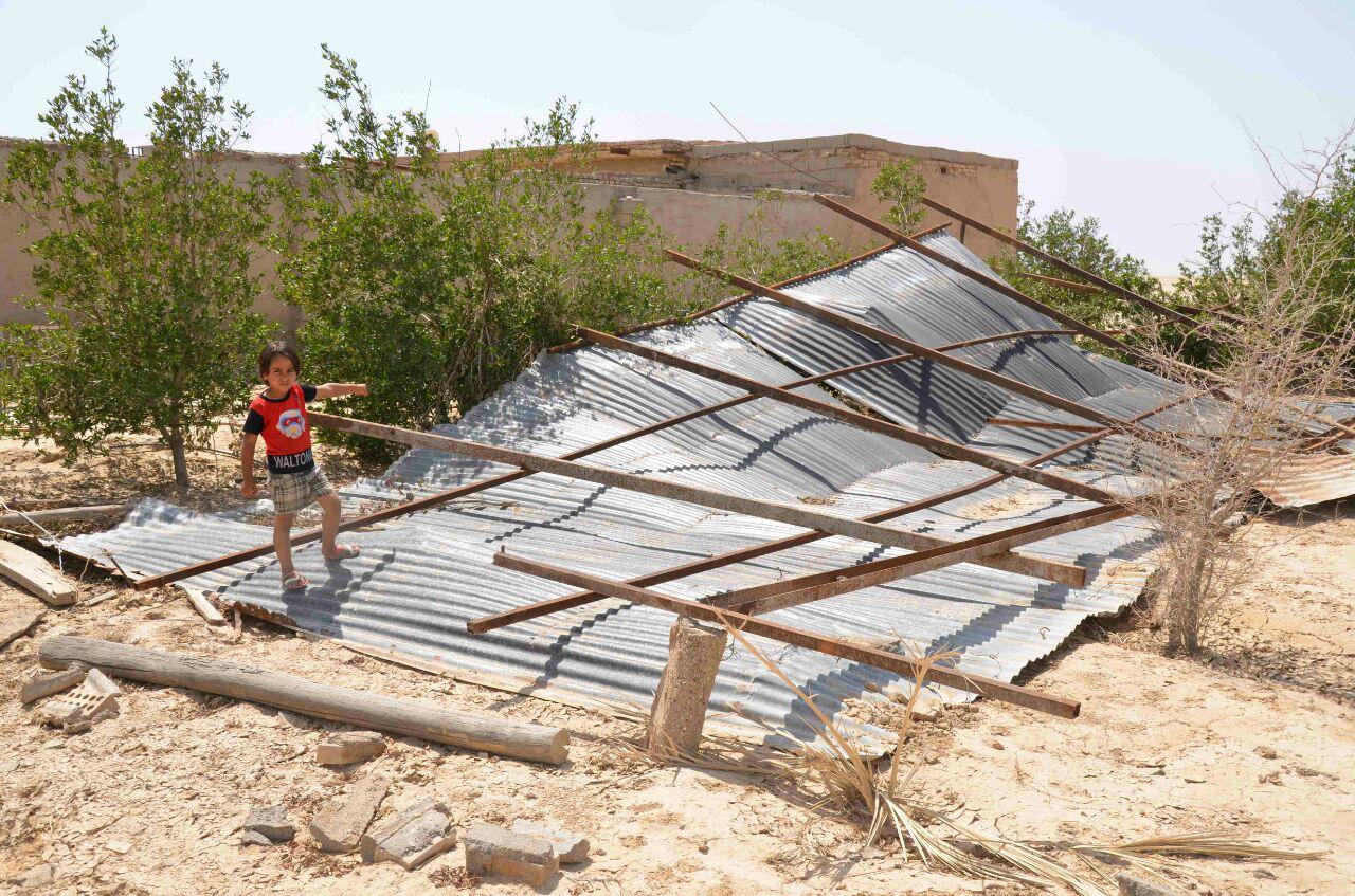 فقر در غیزانیه خوزستان و روستاهایش (+عکس)