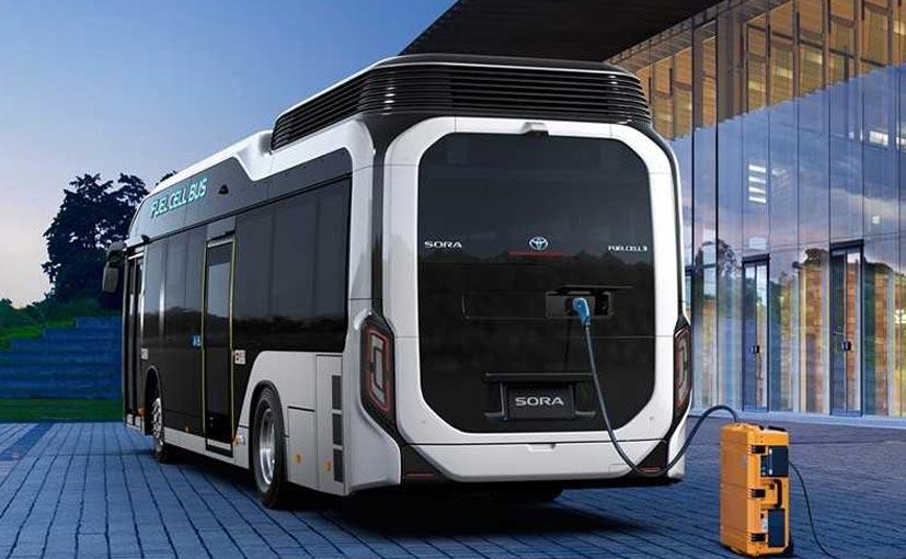 سورای تویوتا، اتوبوسی با سوخت سلولی/ ژاپن از این اتوبوسها در المپیک 2020 استفاده خواهد کرد