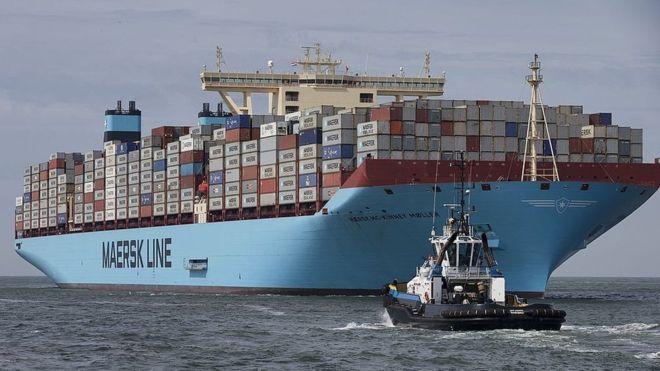 توقف فعالیت بزرگترین شرکت کشتیرانی جهان در ایران