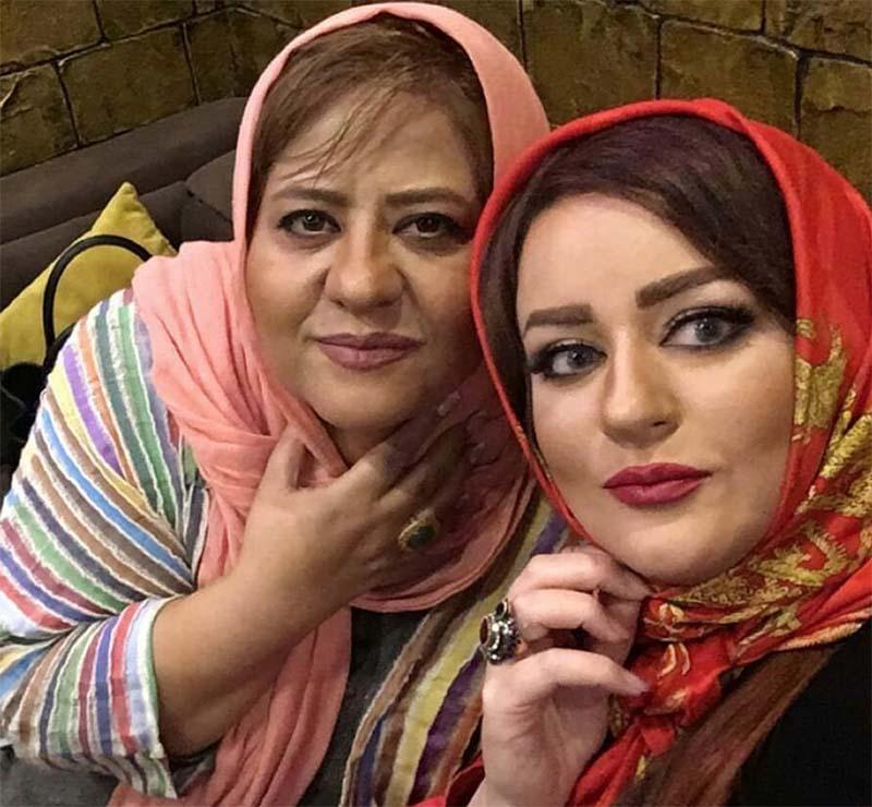 رابعه اسکویی پس از بازگشت به ایران  (عکس)