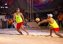 صعود تیم والیبال ساحلی به فینال تور جهانی ترکیه