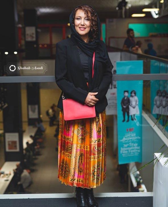 پوشش «پانتهآ بهرام» در جشنواره فیلم فجر (عکس)
