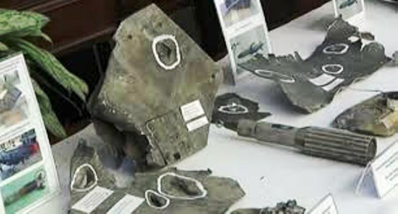 عربی 21: روسیه تصاویر لاشه موشک های آمریکا را به نمایش گذاشت (+عکس)