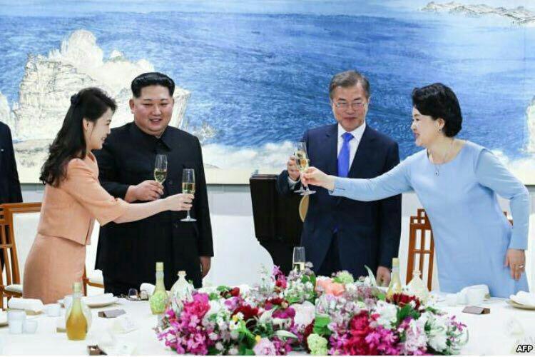 صلح دو کره و