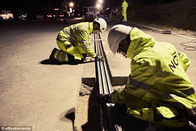 سوئد اولین جاده برقی درجهان را احداث کرد (+عکس)