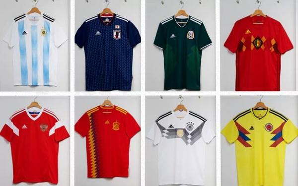 ویژگیهای لباسهای فوتبالی برتر جهان در جام جهانی (+عکس)