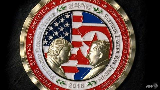 آمریکا برای نشست کیم–ترامپ سکه یادبود ضرب کرد (+ عکس)