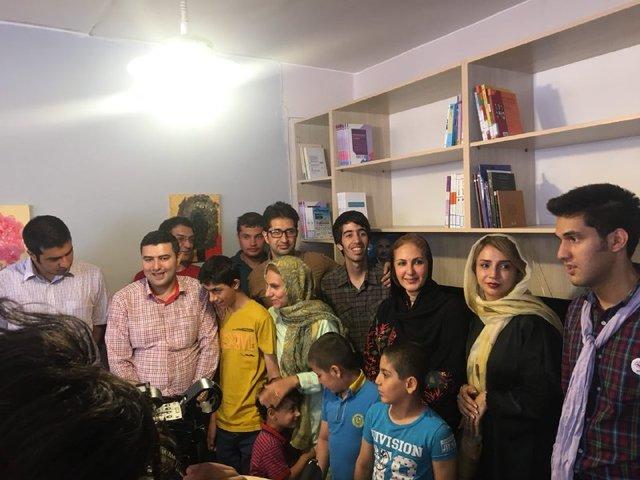 اولین کتابخانه اوتیسم ایران افتتاح شد (+عکس)