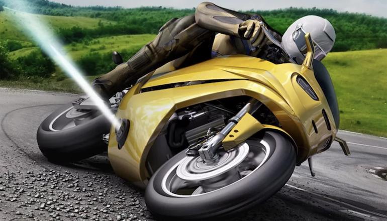 یک فناوری فضایی روی موتورسیکلتها