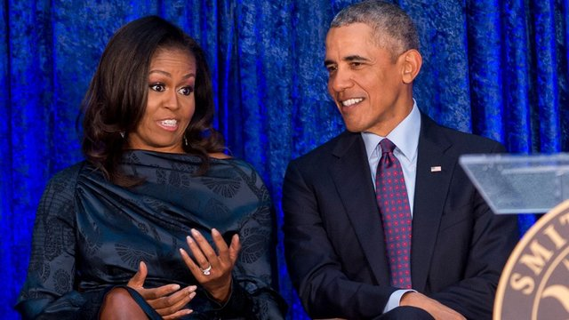 باراک اوباما و همسرش در عرصه سریال سازی