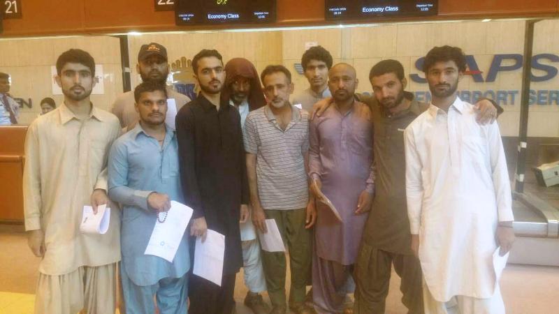 آزادی 10 ملوان ایرانی زندانی در پاکستان (+عکس)