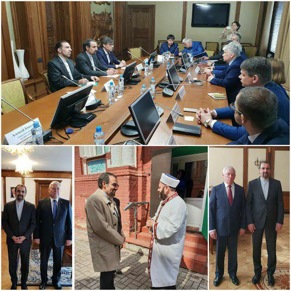 بررسی توسعه همکاری های ایران و منطقه سیبری در سفر سفیر ایران در روسیه