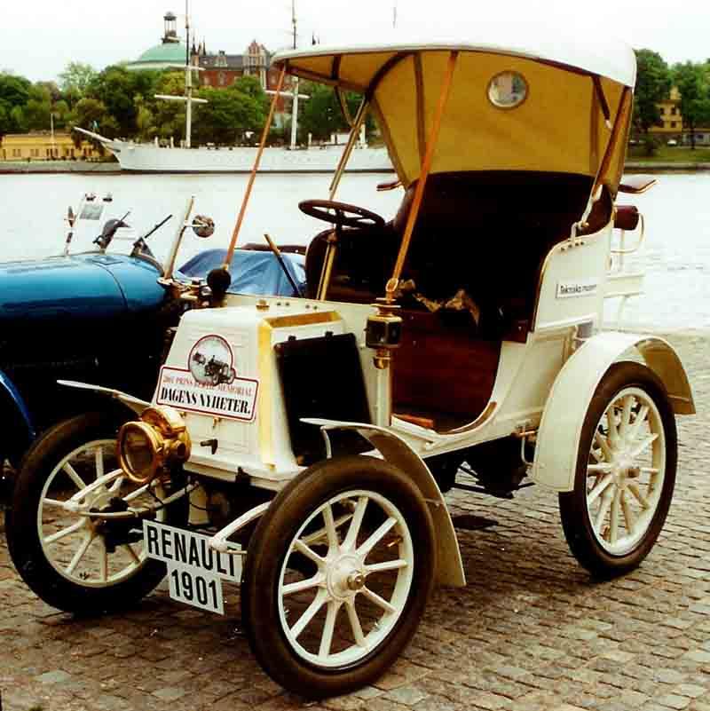 اولین خودروهای ساخت رنو