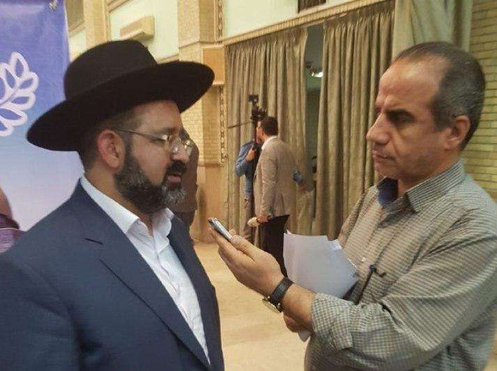 نظر خاخام «حمامی» رهبر یهودیان ایرانی درباره امام خمینی