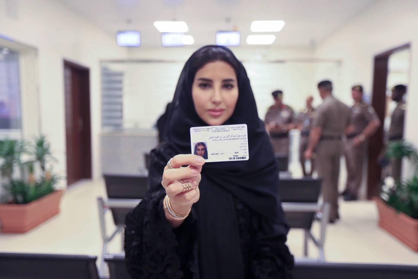 عربستان سعودی؛ صدور اولین گواهینامه رانندگی برای زنان