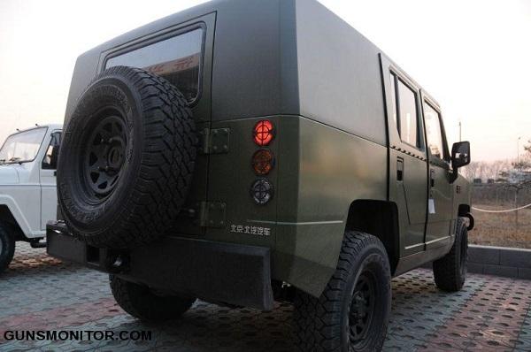 جنگجوی شجاع؛ وسیله نقلیه سبک ارتش چین