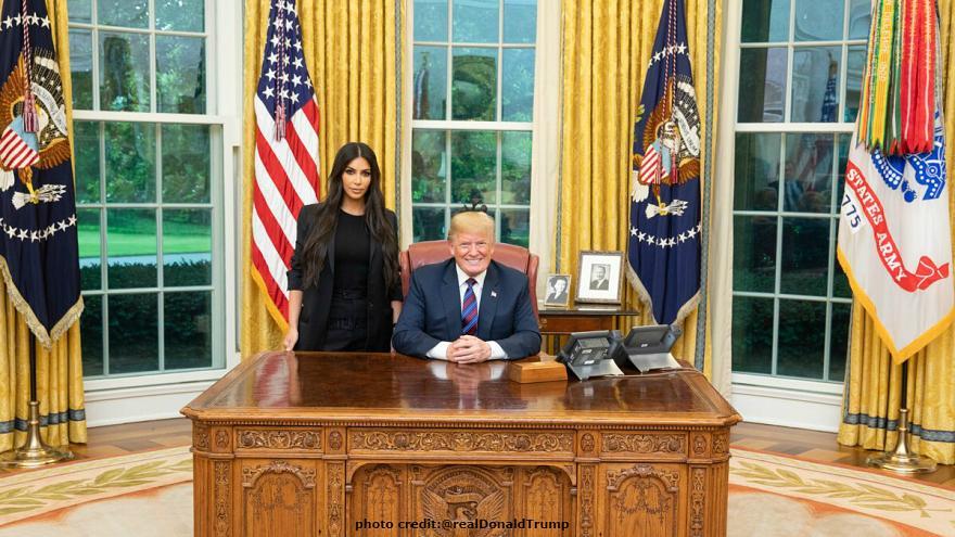 کیم کارداشیان و ترامپ؛ مبتذل شدن امر سیاسی؟