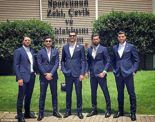 خوشتیپی بازیکنان ایران سوژه دیلی میل شد (+عکس)