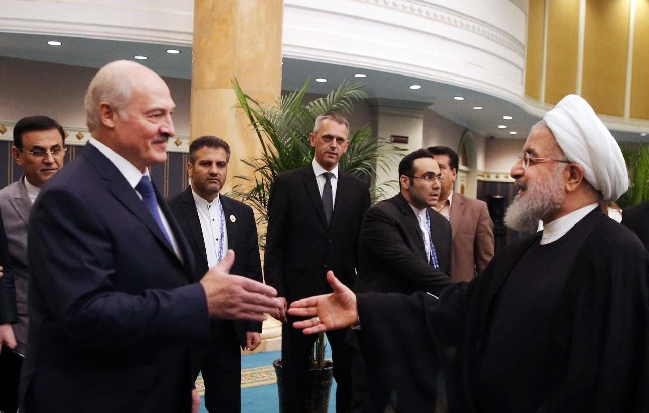 دیدار روسای جمهوری ایران و بلاروس در چین
