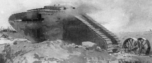 اولین تانک تاریخ (عکس)