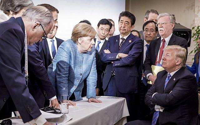درباره جنجالی ترین عکس از نشست G7