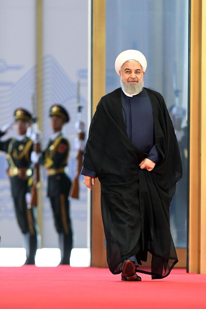 عکس خبرگزاری رسمی چین از روحانی (عکس)