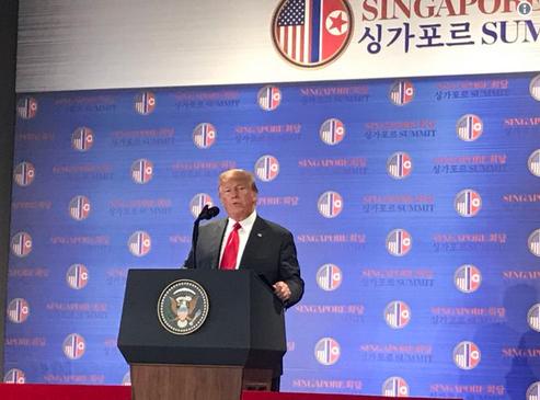 ترامپ: من مثل اوباما باج ندادم و با کره توافق کردم