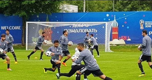 حضور سفیر ایران در روسیه در کمپ تیم ملی (عکس)