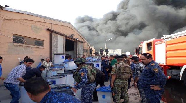 آتشسوزی مخازن آرا در بغداد عمدی بود/دورنمایی برای تشکیل یک دولت قوی در عراق وجود ندارد