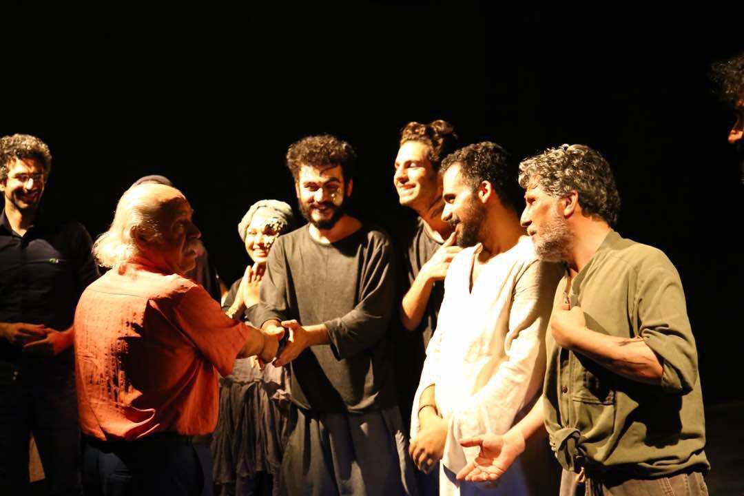 بهزاد فراهانی در تئاتر باران به تماشای