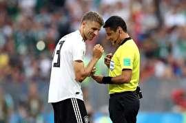 فغانی بهترین داور جام جهانی در نظرسنجی سایت Ratetheref