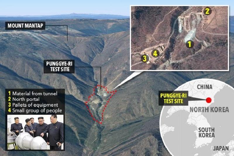 کره شمالی سایت اتمی خود را تخریب کرد
