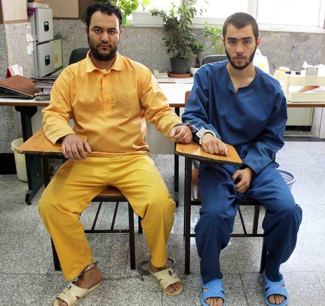 دستگیری مسافرهای زورگیر (+عکس)