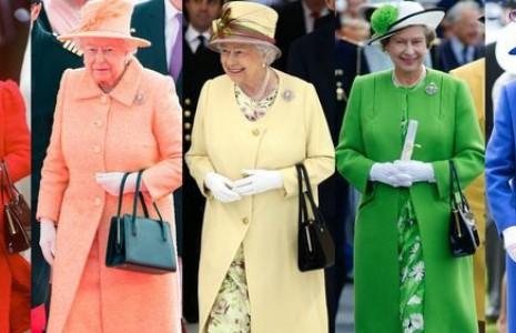لباسهایی که ملکه انگلیس مد کرد! (عکس)