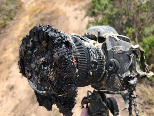 سوختن دوربین عکاس ناسا حین پرتاب موشک فالکون 9