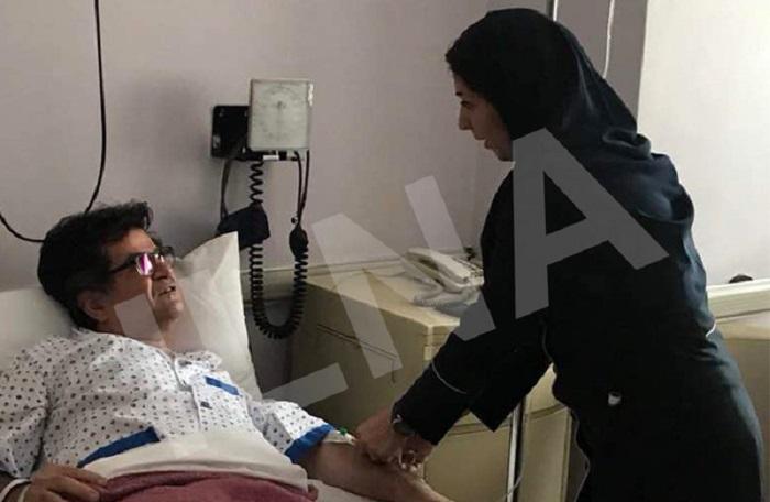 جعفر پناهی در بیمارستان بستری شد (+عکس)
