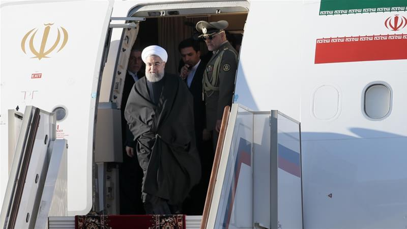 هواپیمای اختصاصی رییس جمهوری ایران در لیست تحریمی آمریکا