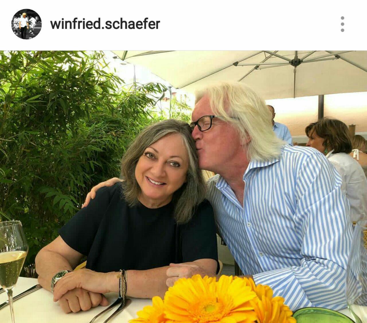 شفر و همسرش در آلمان (عکس)