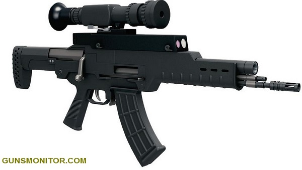 سلاح چینی با دوربین خلاقانه! (تصاویر)
