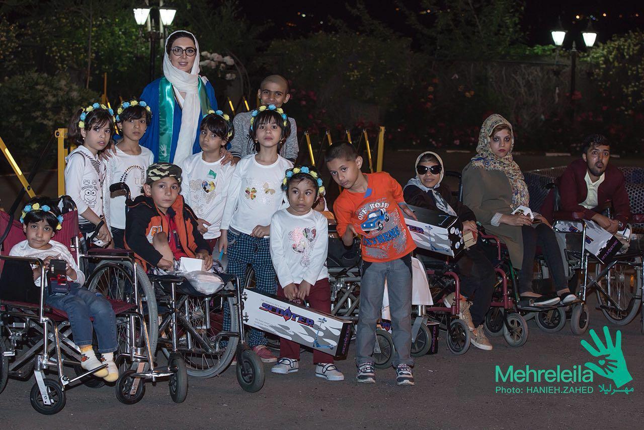 استقبال هنرمندان و ورزشكاران از ضيافت خيريه مهر لیلا