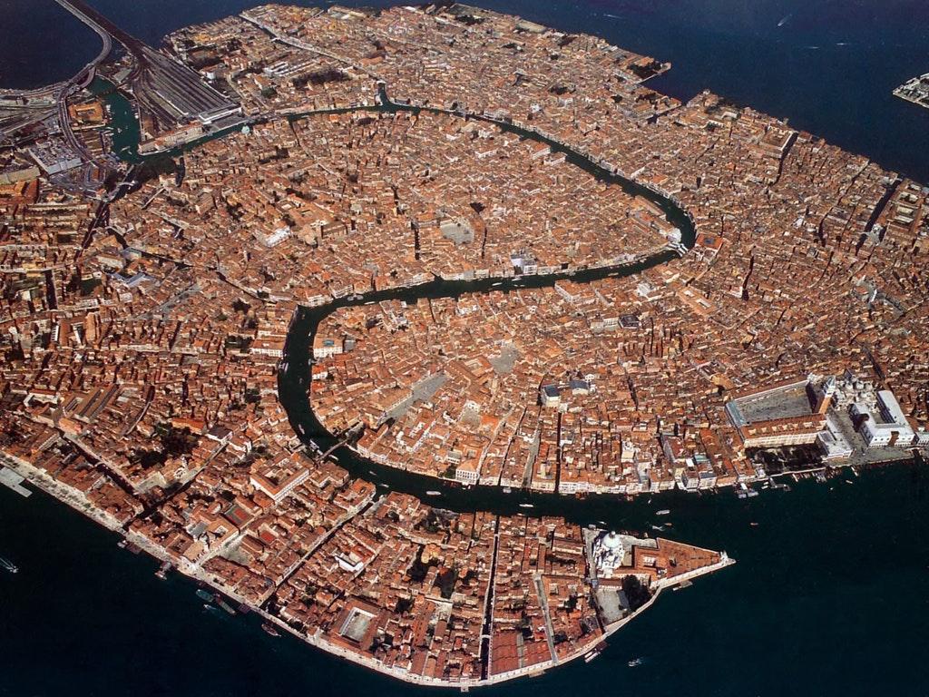 منظره هوایی زیبا از ونیز در ایتالیا (+عکس)