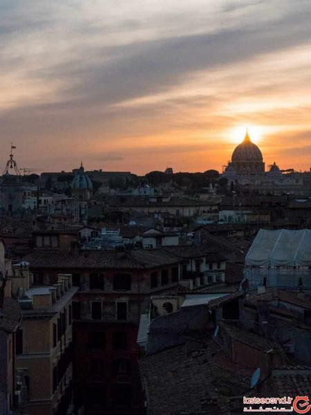 4 چشم انداز زیبا و تماشایی در رم (+عکس)