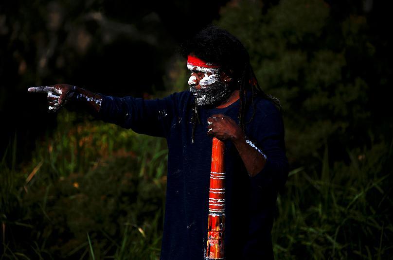هفته آشتی بومیان استرالیا (عکس)