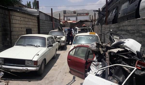 انهدام باند مالخرها در شرق تهران/ قیمت هر خودرو فقط ۵۰۰ هزار تومان! (+عکس)
